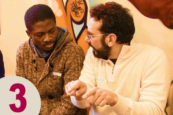 Come lavoriamo › step chiave 3 • ALI: Accoglienza Libera Integrata • accoglienzalibera.org
